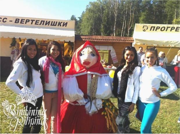 Mutya with fellow Supranationals with Belarusian Masco